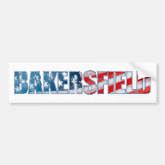 Bakersfield Bumper Sticker