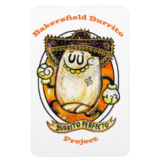 Bakersfield Burrito Project Magnet