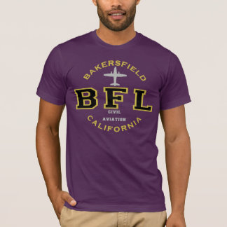 Bakersfield, California Civil Aviation T-Shirt