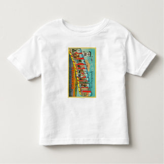 Bakersfield, California - Large Letter Scenes Toddler T-shirt