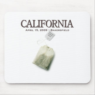 Bakersfield California Tea Party Mouse Pad