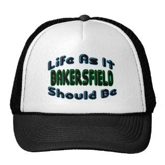 Bakersfield como debe ser gorras de camionero