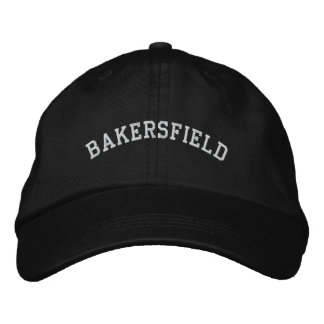 Bakersfield Embroidered Baseball Cap
