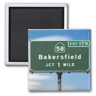 Bakersfield Exit Magnet