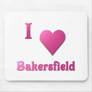 Bakersfield -- Hot Pink Mouse Pad