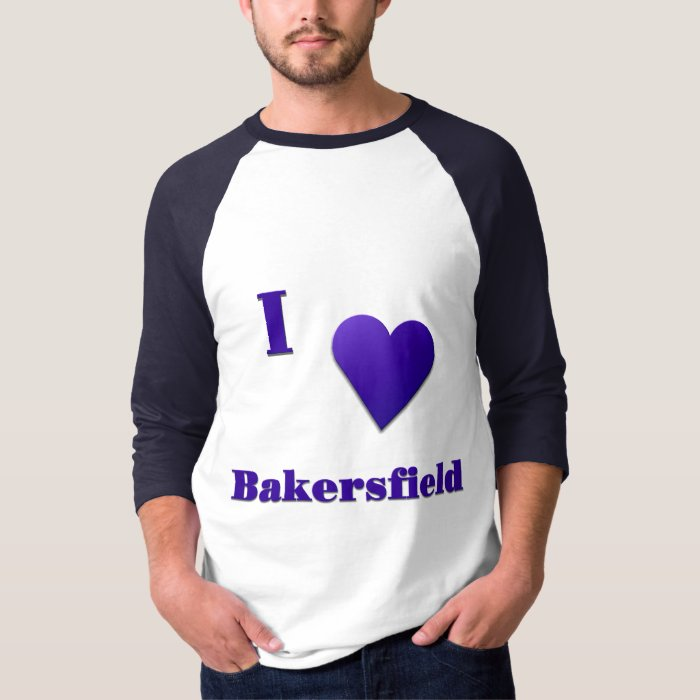 Bakersfield -- Midnight Blue T-Shirt