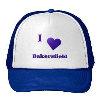 Bakersfield -- Midnight Blue Trucker Hats