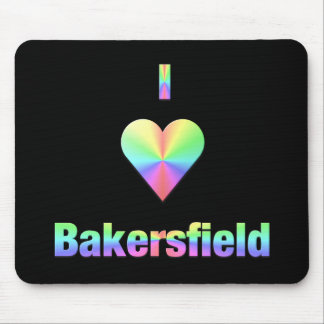 Bakersfield -- Pastels Mouse Pad