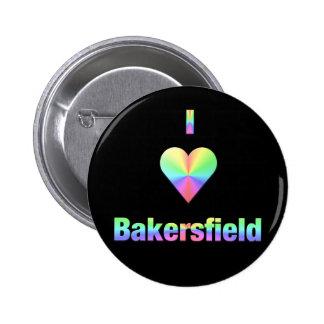 Bakersfield -- Pastels Pinback Button