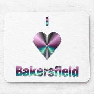 Bakersfield -- Purple & Turquoise Mousepad