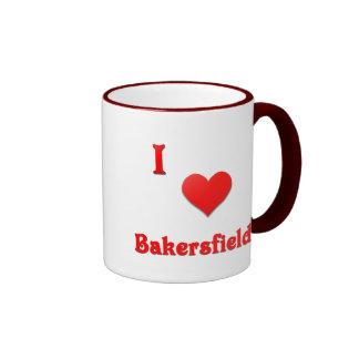 Bakersfield -- Red Coffee Mug
