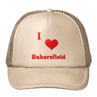 Bakersfield -- Red Mesh Hats