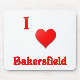 Bakersfield -- Red Mousepad