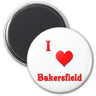 Bakersfield -- Red Refrigerator Magnets