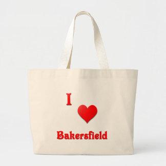 Bakersfield -- Red Tote Bag