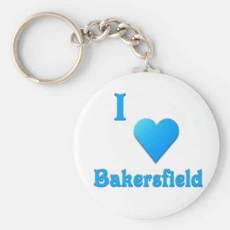 Bakersfield -- Sky Blue Keychains