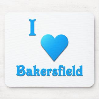 Bakersfield -- Sky Blue Mousepads