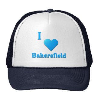 Bakersfield -- Sky Blue Trucker Hats