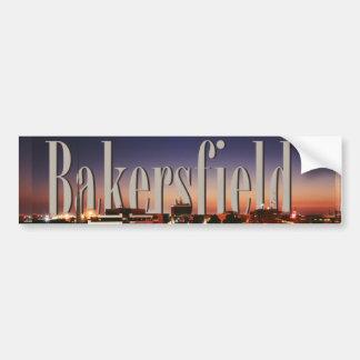 Bakersfield Skyline with Bakersfield in the Sky Bumper Sticker