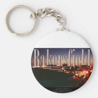 Bakersfield Skyline with Bakersfield in the Sky Keychain