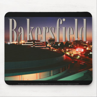 Bakersfield Skyline with Bakersfield in the Sky Mouse Pad