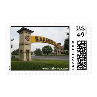 Bakersfield Stamp