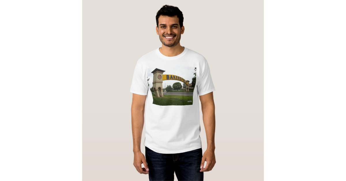 Bakersfield t shirt zazzle for T shirt outlet bakersfield ca