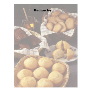 Bakery and Breads Recipe 2 Blank Card