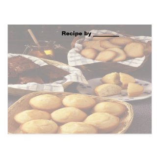 Bakery and Breads Recipe Blank Card