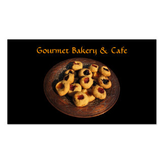 Bakery and Cafe Business Card Templates
