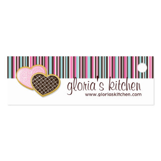 Bakery and Cupcake Packaging Tags Business Cards
