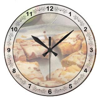 Bakery - Apple Danish Large Clock