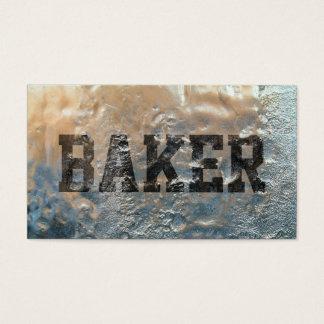 Bakery Baker Cool Frozen Business Card