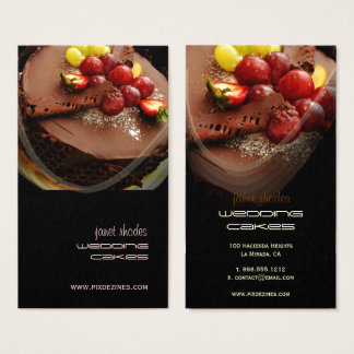 Bakery, bakers business cards