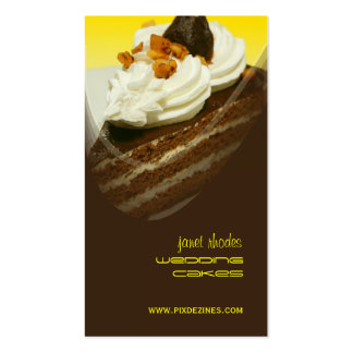 Bakery, bakers Photo templates business cards