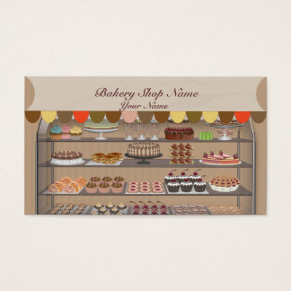 Bakery Biscuit Shop Business Card