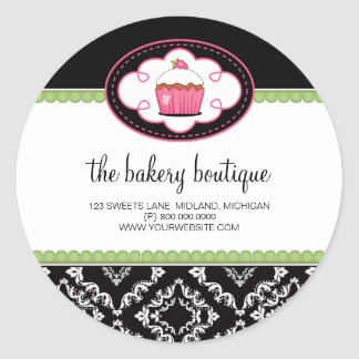Bakery Boutique Business Stickers
