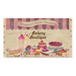 Bakery Boutique Cakes & Patisserie Business Card