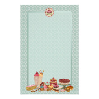 Bakery Boutique Cakes & Patisserie Stationery