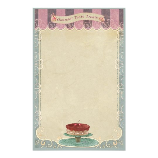 Bakery Boutique Cakes & Patisserie Stationery 3