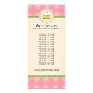 Bakery Boutique Product Rack Cards
