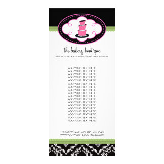 Bakery Boutique Rack Cards