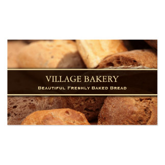 Bakery / Bread Photo Business Card Template