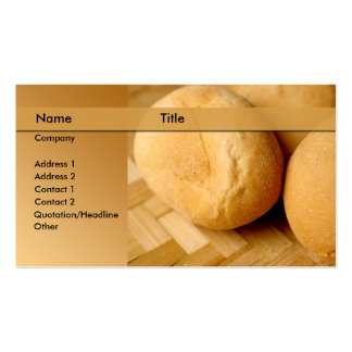 bakery brewery business card