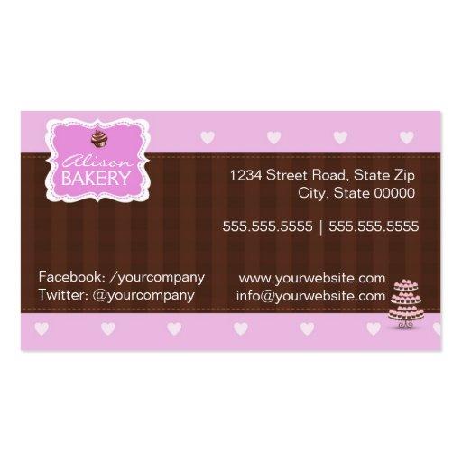 Bakery Business Card (back side)