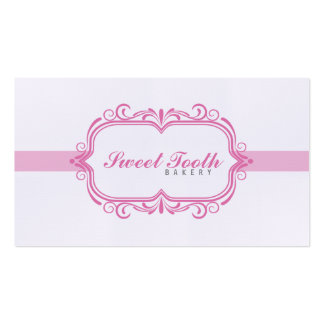 Bakery Double-Sided Standard Business Cards (Pack Of 100)