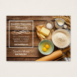 Bakery Business Card at Zazzle