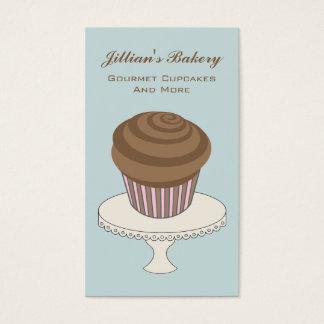 Bakery Business Card - Chocolate Cupcake
