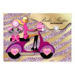 Bakery Business Card Zebra Pink Cake Pops