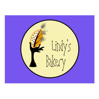 Bakery Business Corporate Branding Design Set Postcard